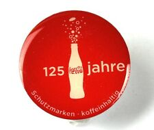 Coca Cola Coke Germany Lapel Pin Button Badge Anstecknadel - 125 Jahre Flasche