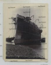 More details for royal navy photo cohen's shipbreaking yard east london composite sloop 1896
