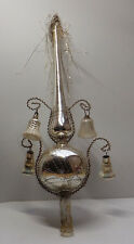 Weihnachtsschmuck Christbaumschmuck Spitze Glocke Tannenbaumspitze  Lauscha Glas