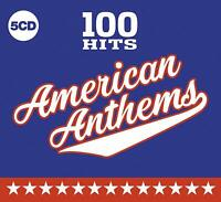 100 HITS AMERICAN ANTHEMS (2019) 100-track 5-CD digipak NEW/SEALED Survivor