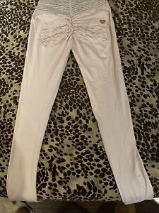 Cute booty lounge Scrunch light Pink leggings Size S