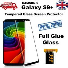 Full Glue Covered Tempered Glass Film 6D Screen Saver for Samsung Galaxy S9 Plus