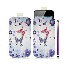 Housse coque étui pochette pour Apple Ipod Touch 4G avec motif HF06 + Stylet lux