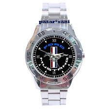 NEW FORD MUSTANG RUNNING PONY Custom Chrome Men Wrist Watch Watches