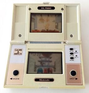 "Jeu electronique Nintendo game & watch ""Oil panic"" version J.I 21 FR FRENCH"