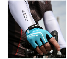 SAHOO Outdoor Bike Tactical Breathable Sport Cycling Half Finger Gloves Bicycle