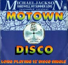 MICHAEL JACKSON - FAREWELL MY SUMMER amour ( 2 trk 30.5cm/1984)