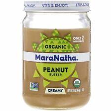 MaraNatha, Organic Peanut Butter, Creamy, 16 oz