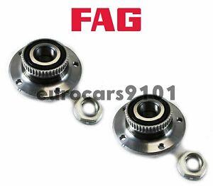 BMW 323Ci FAG (2) Front Wheel Bearing and Hub Assemblies 31226757024 7136670600