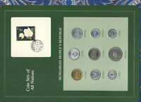 Coin Sets of All Nations Hungary all coins 1978 UNC Rose stamp 10,5,2,1 Forint