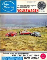 Safer Volkswagen VW Motoring magazine March 1971