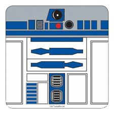 Genuine Star Wars R2-D2 Close Up Single Coaster Drinks Mat Retro Droid Film Gift
