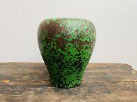 Excellent Antique Weller Pottery Green Coppertone Vase