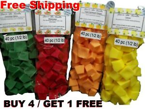 Wax Melts Tarts Mini Candle Chunks Cubes Chips Christmas Fragrances Scents