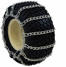 New 2-Link 23x8.50-12 Tire Chains Kubota Lawn Tractor Snow Blower FREE Ship