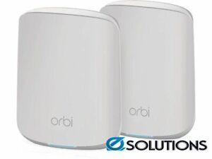 NETGEAR Orbi WiFi 6 AX1800 Mesh System (RBK352)