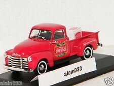 CHEVROLET PICKUP 1953 COCA-COLA MOTOR CITY 1/43 Ref 478104