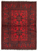 "Hand-knotted Carpet 3'5"" x 4'11"" Traditional Vintage Wool Rug...DISCOUNTED!"