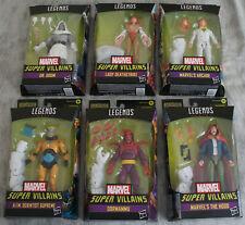 Marvel Legends Super Villians Wave Set of 6 Action Figures Xenmu BAF FREE S/H