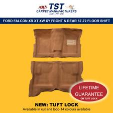 MOULDED CAR CARPET (F09) FORD FALCON XR XT XW XY FRONT & REAR 67-72 FLOOR SHIFT