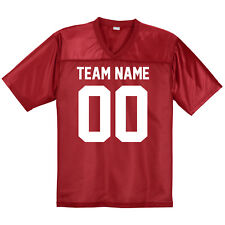 Custom Football Jersey ** Men's Mesh Jerseys ** XS - 4XL ** Halloween Costume