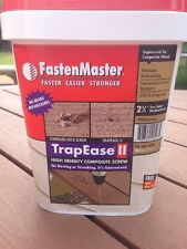 "FastenMaster TrapEaseII 2-3/4""Screws for Trex Decking Bucket1750 DECK SCREWS"