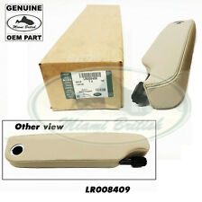 LAND ROVER FRONT ARMREST RH ALMOND LEATHER WITH CONTRAST STITCHING LR4 LR008409