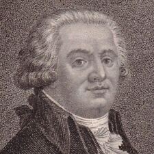 Portrait XVIIIe Jacques Antoine De Cazalès Assemblée Constituante Révolution