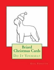 Briard Christmas Cards : Do It Yourself by Gail Forsyth (2015, Paperback)