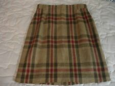 MONDI Lined Plaid Pattern Skirt  NWT