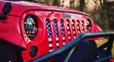 Jeep Wrangler JK Grille Inserts 2007-current  Old Glory