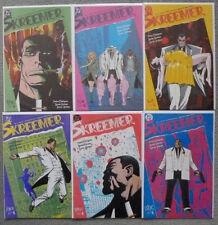 SKREEMER #1-6 SET..PETER MILLIGAN/STEVE DILLON/EWINS..DC 1989 1ST PRINT..VFN