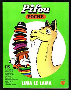 # PIFOU POCHE n°115 #  # 1980 VAILLANT