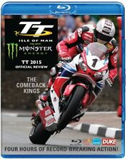 TT 2015 OFFICIAL REVIEW ISLE of MAN Tourist Trophy JOHN McGUINNESS - NEW BLU-RAY