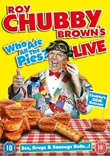 Roy Chubby Brown Live - Who Ate All The Pies? [DVD].