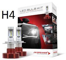 990004 JW Speaker LED H4 Multivolt Headlight Globes 2000 Lumen 6200K Car Truck