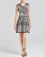 NWT-Rebecca Minkoff Vik Knit Fit and Flare Dress Size S Retail $248