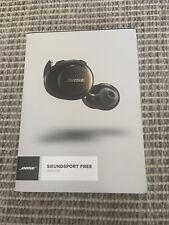 BRAND NEW Bose 774373-0010 SoundSport Free Wireless In-Ear Headphones - Black