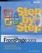 Microsoft® Office FrontPage® 2003 Step by Step Solutions, Online Training, Inc.