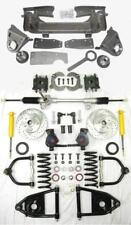 """1947-1954 Chevy Truck Mustang II Manual Front End Suspension Kit 2"""" Drop Slotted"""