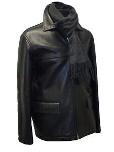 J.Crew 100% Leather Black Casual Jacket Medium