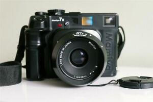 MAMIYA 7 II Medium Format Rangefinder Film Camera (Black) with 80mm f/4 Lens