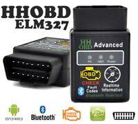 V2.1 OBD2 Bluetooth Car Scanner ELM327 Android Auto Torque Diagnostic Scan Tool