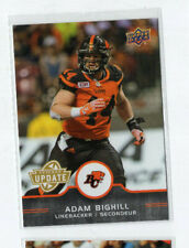 2016 Upper Deck CFL Update SP Adam Bighill Lions U4  Blue Bombers