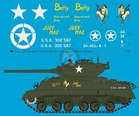 Peddinghaus 1/16 M4A3 Sherman Markings 3rd Armored Division Europe WWII 3131