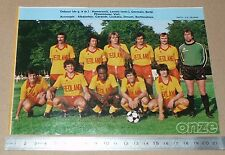 CLIPPING POSTER FOOTBALL 1980-1981 D2 US ORLEANS LEMEE