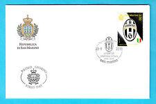 Busta Primo giorno FDC Annullo Speciale JUVENTUS 2014/2015 UFFICIALE San Marino
