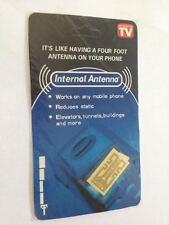 4pcs. Internal Cell Phone Antenna Signal Reception Booster. As Seen on TV, Gold