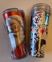 Royal Carribean Cruise Travel Tumbler Cups Set of 2 Coca Cola