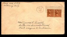 1944 Cover w/ Damaged x-mass Seal On Back - L9900